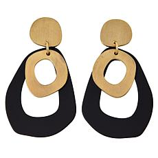 MarlaWynne Open Design Abstract Drop Earrings