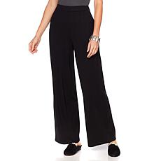 MarlaWynne Ponte High-Waist Trousers