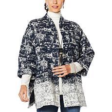 MarlaWynne Stipple Jacquard Jacket