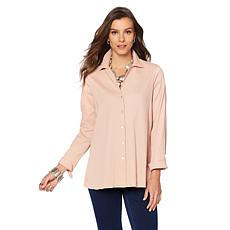MarlaWynne Textured Easy Shirt