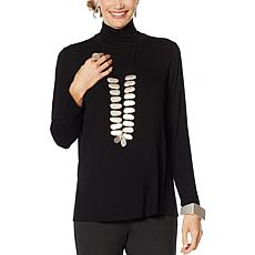 MarlaWynne Turtleneck Butterfly Tee