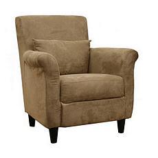 Marquis Tan Microfiber Club Chair