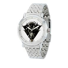 Marvel's Avengers White Dial Stainless Steel Bracelet Watch