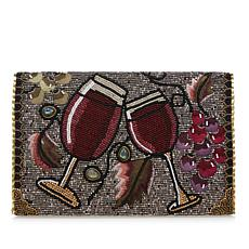 Mary Frances Bead and Gemstone Vino Crossbody