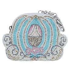 Mary Frances Handmade Beaded Carriage Coin Purse