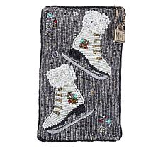 Mary Frances Handmade Beaded Cheap Skate Phone Pouch
