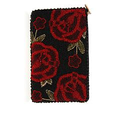 Mary Frances Spanish Rose Phone Pouch