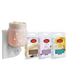 Mason Jar Plug-in Warmer with 3 Wax Melts