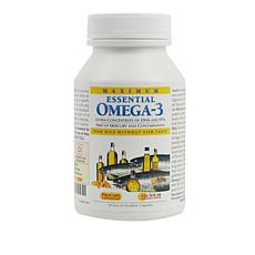 Maximum Essential Omega-3 - No Fishy Taste - Orange - 30 Capsules