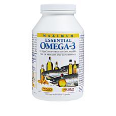 Maximum Essential Omega-3 - Unflavored - 360 Capsules
