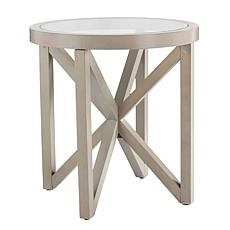 Maxton End Table with Sputnik-Design Base