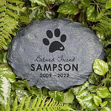 MBM Beloved Friend Personalized Dog Memorial Garden Stone