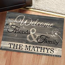 MBM Welcome Friends & Family Personalized Oversized Doormat