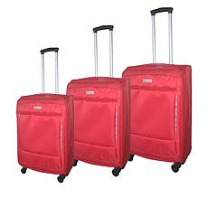 McBrine Softside Luggage 3-piece Set