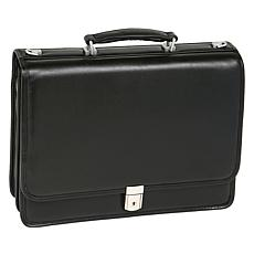 McKlein Bucktown Double-Compartment Briefcase