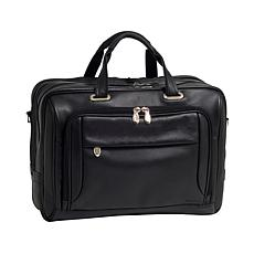 McKlein West Loop Leather Laptop Briefcase