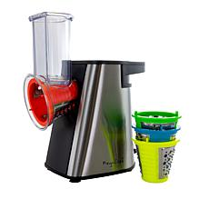 Megachef 4 in 1 Stainless Steel Electric Salad Maker