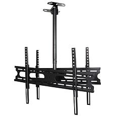 "MegaMounts Double Sided Tilt and Swivel Ceiling Mount 37""- 70""  LCD..."