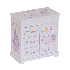 Mele & Co. Adalyn Girl's Musical Ballerina Jewelry Box