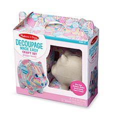 Melissa & Doug Decoupage Made Easy - Piggy Bank