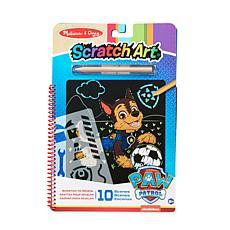Melissa & Doug Paw Patrol Scratch Art Pad - Chase