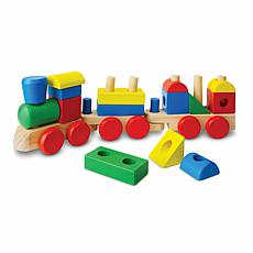 Melissa & Doug Stacking Train Set