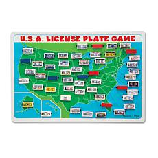 Melissa & Doug U.S.A. License Plate Game