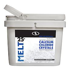 MELT 25-pound Bucket Calcium Chloride Crystals Ice Melter