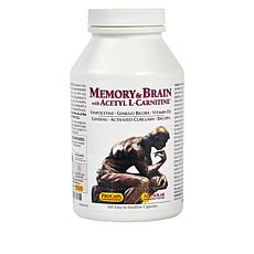 Memory and Brain with Acetyl L-Carnitine - 360 Capsules