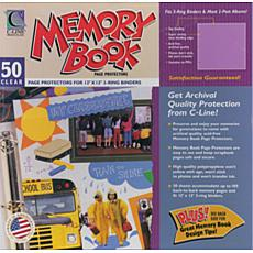 Memory Book Top Loading Page Protectors 12X12 - 50ct