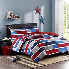 Mi Zone Bradley Printed Quilt Set - Twin/Twin XL