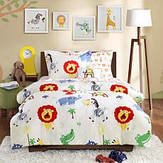 Mi Zone Kids Safari Sam Complete Bed and Sheet Set T