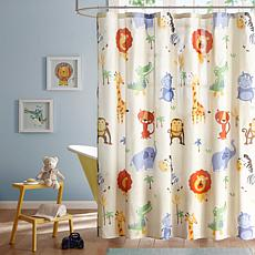 "Mi Zone Kids Safari Sam Shower Curtain - Multi/72""x72"""