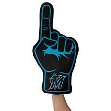 Miami Marlins Plushlete Fan Finger Pillow