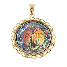 Michael Anthony Jewelry® 10K Angel Digital Hologram Pendant