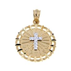 Michael Anthony Jewelry® 10K Baptism Cross Pendant