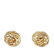 "Michael Anthony Jewelry® 10K ""Love Knot"" Stud Earrings"