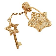 Michael Anthony Jewelry® 10K Star Lock & Key Pendant