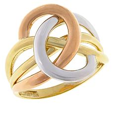 Michael Anthony Jewelry® 10K Tri-Color Twisted Ring