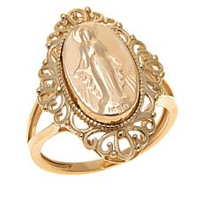 Michael Anthony Jewelry 10k Virgin Mary Ring