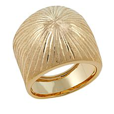 Michael Anthony Jewelry® 14K Sunburst Wide Band Ring