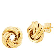 Michael Anthony Jewelry® 14K Yellow Gold Polished Love Knot Earrings