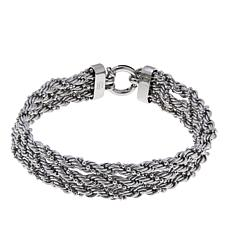Michael Anthony Jewelry® 3-Row Twisted Chain Bracelet