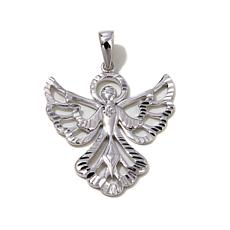 "Michael Anthony Jewelry® Diamond-Accent ""Angel"" Pendant"