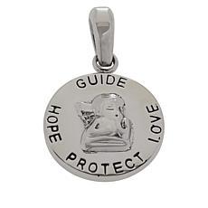 Michael Anthony Jewelry® Stainless Steel Cherub Pendant