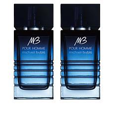 Michael Bublé Pour Homme Masculine Eau de Parfum Duo