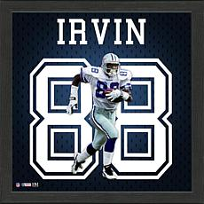 Michael Irvin Impact Jersey Framed Photo