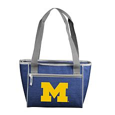 Michigan Crosshatch 16-Can Cooler Tote