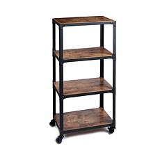 Mind Reader 4-Tier All Purpose Utility Cart