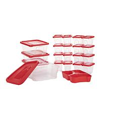 Mind Reader 42-pc Plastic Meal Prep Food Storage Containers with Lids